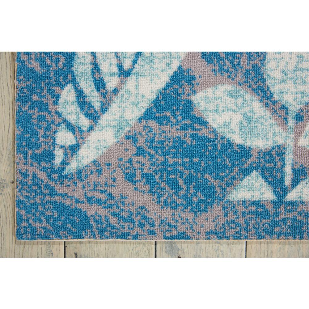 "Coastal Area Rug, Blue, 5'3"" x 7'5"". Picture 5"