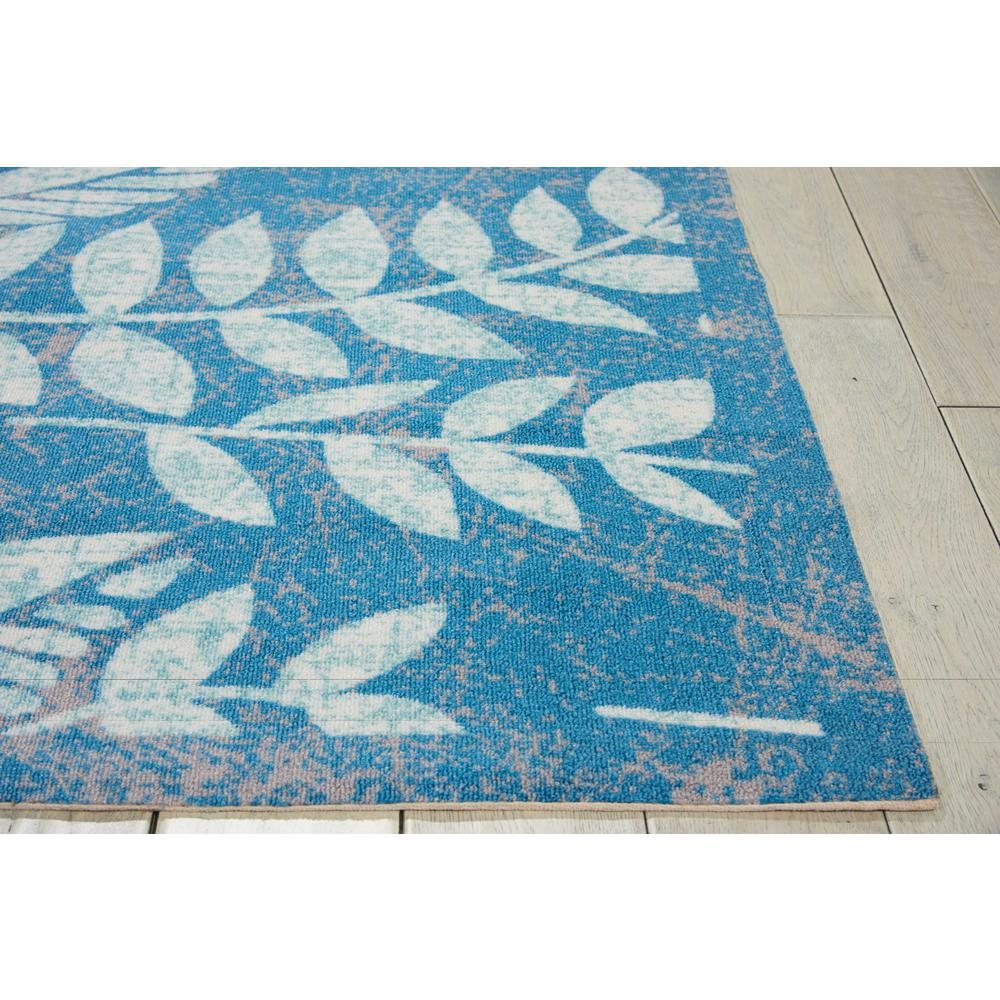 "Coastal Area Rug, Blue, 5'3"" x 7'5"". Picture 4"