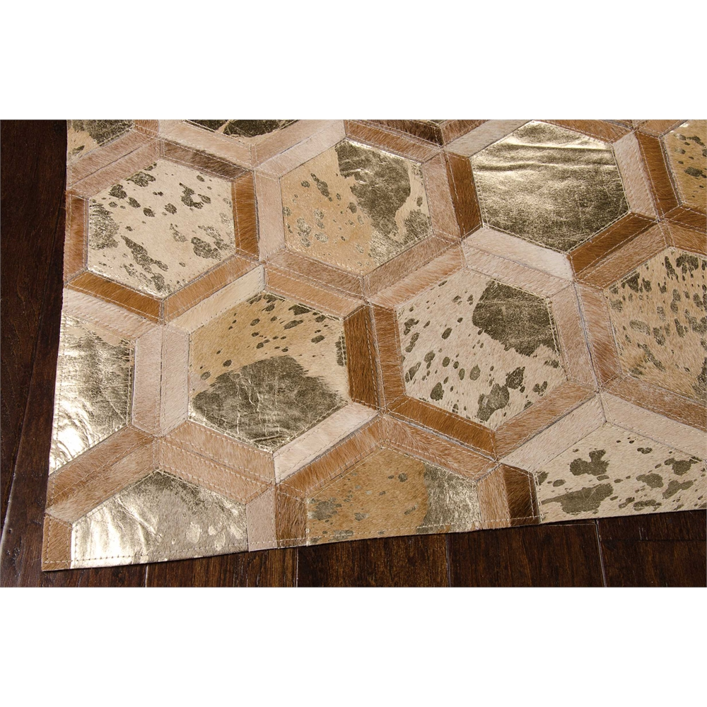 "City Chic Area Rug, Amber/Gold, 5'3"" x 7'5"". Picture 2"