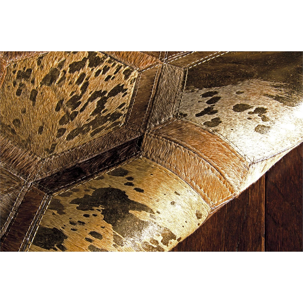 "City Chic Area Rug, Amber/Gold, 5'3"" x 7'5"". Picture 3"