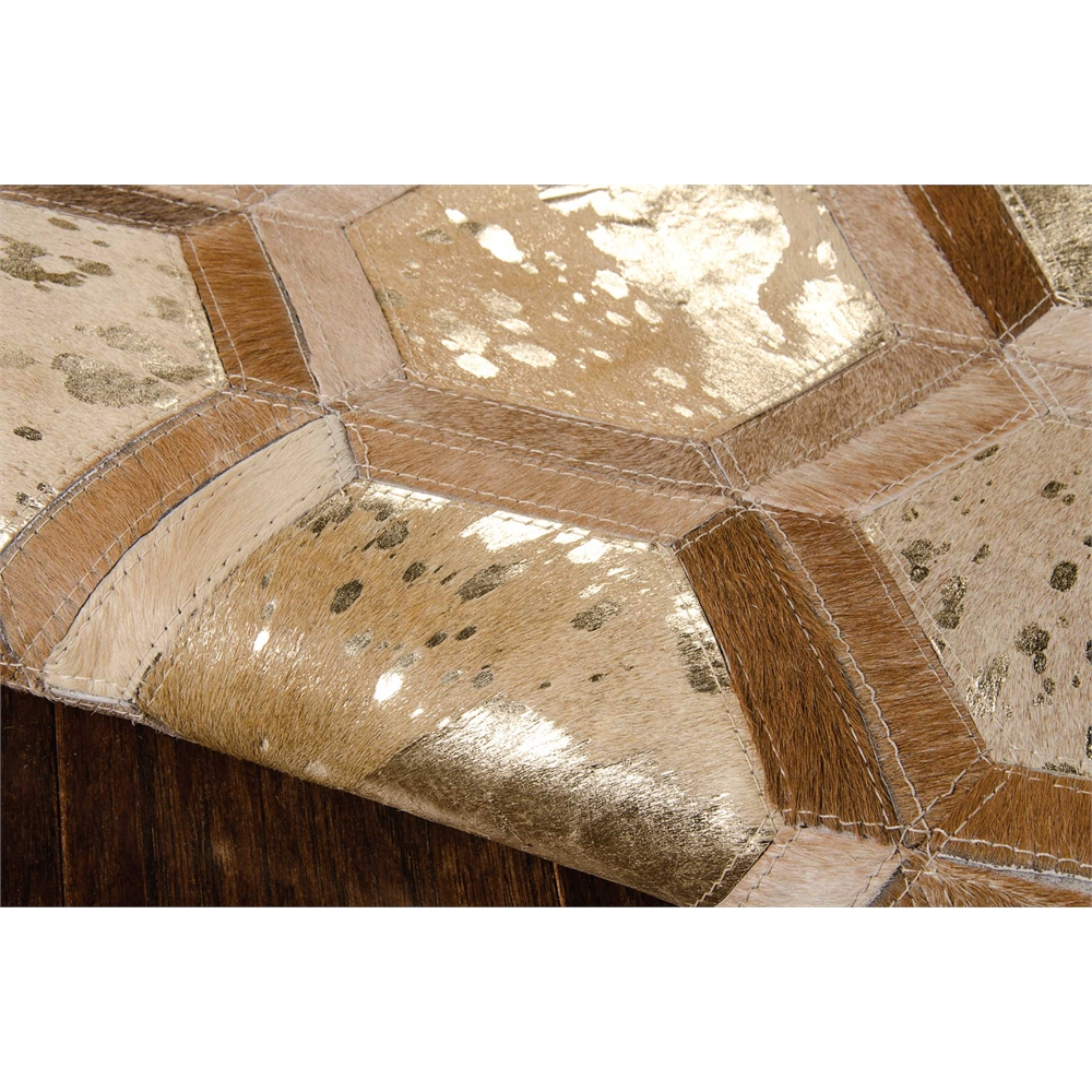 "City Chic Area Rug, Amber/Gold, 5'3"" x 7'5"". Picture 5"