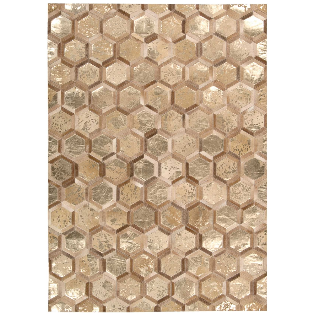 "City Chic Area Rug, Amber/Gold, 5'3"" x 7'5"". Picture 1"