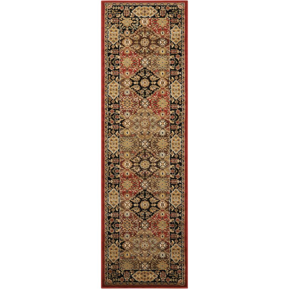 "Delano Area Rug, Multicolor, 2'2"" x 7'6"". The main picture."