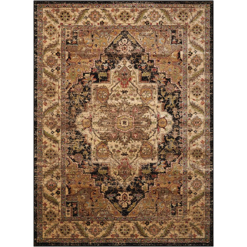 "Delano Area Rug, Black, 3'11"" x 5'11"". Picture 1"