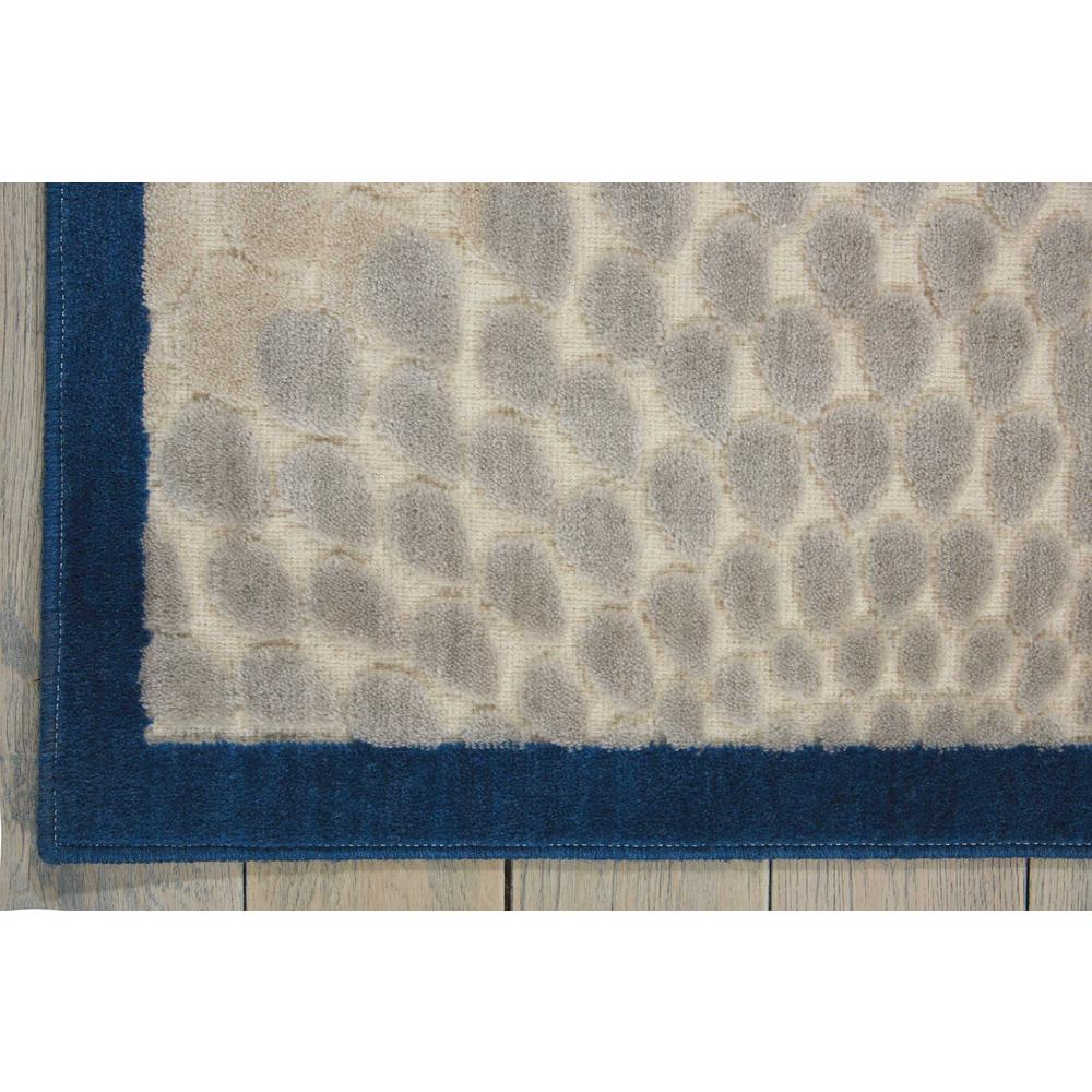 """Graphic Illusions Area Rug, Ivory/Blue, 7'9"""" x 10'10"""". Picture 2"""