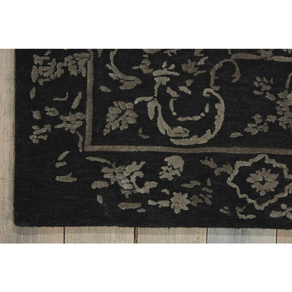 """Opaline Area Rug, Mmidnight/Silver, 3'9"""" x 5'9"""". Picture 2"""