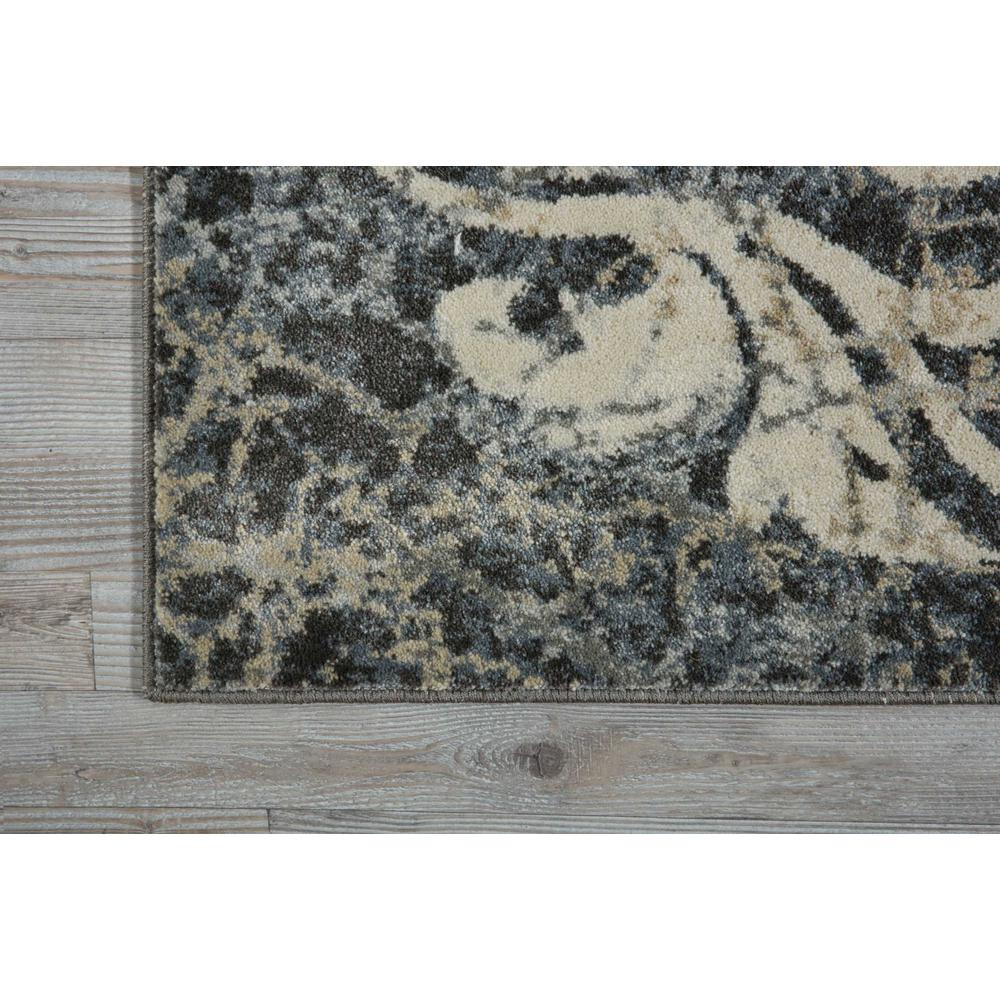 "Maxell Area Rug, Ivory/Charcoal, 2'2"" x 7'6"". Picture 2"