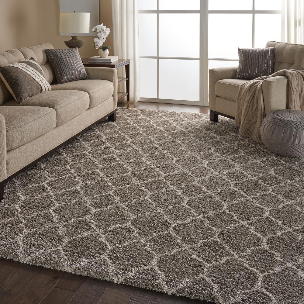 """Amore Area Rug, Stone, 6'7"""" x 9'6"""". Picture 6"""