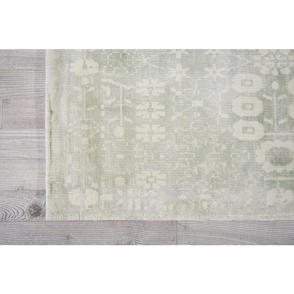 "Desert Skies Area Rug, Silver/Green, 2'3"" x 8'. Picture 2"