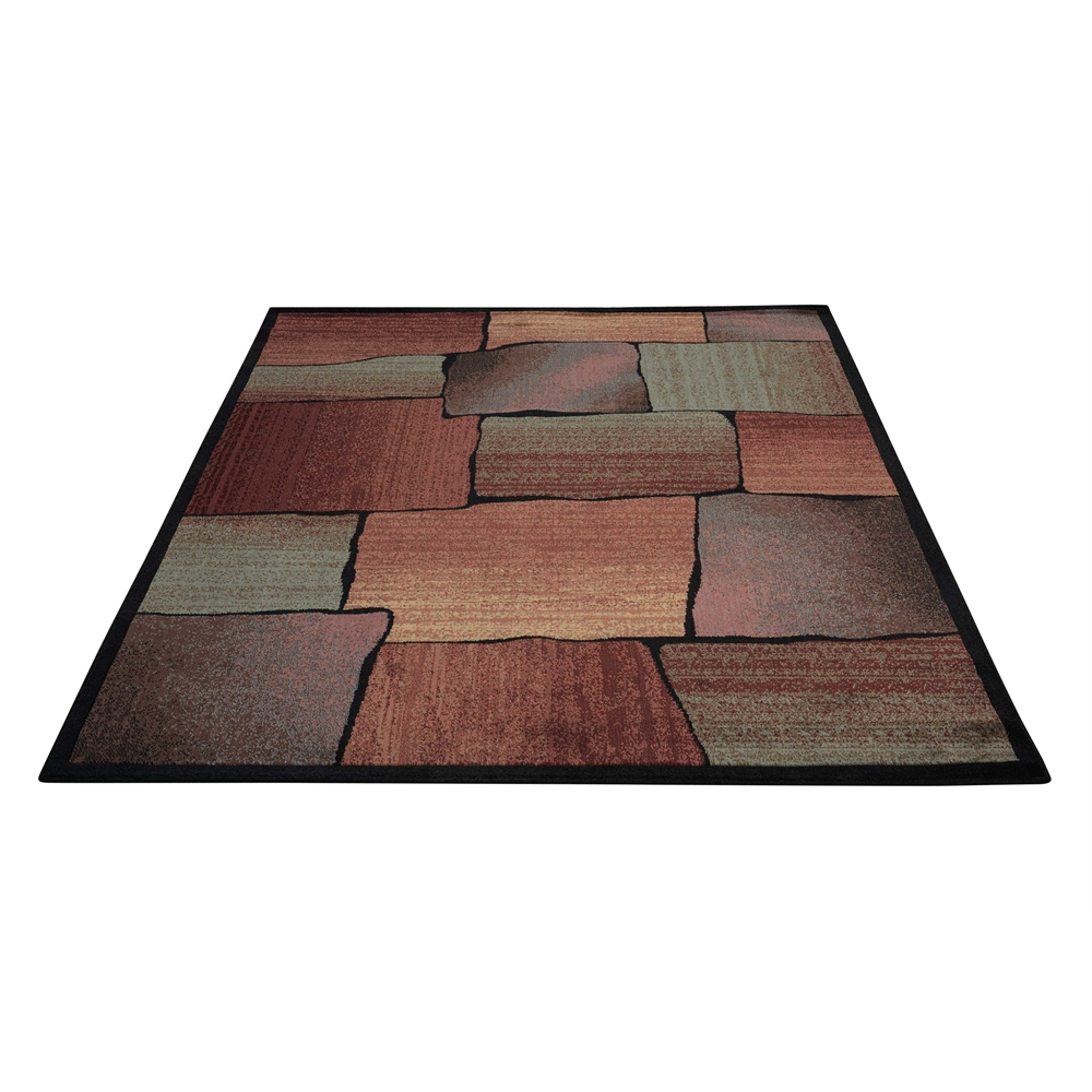 """Expressions Area Rug, Multicolor, 5'3"""" x 7'5"""". Picture 5"""