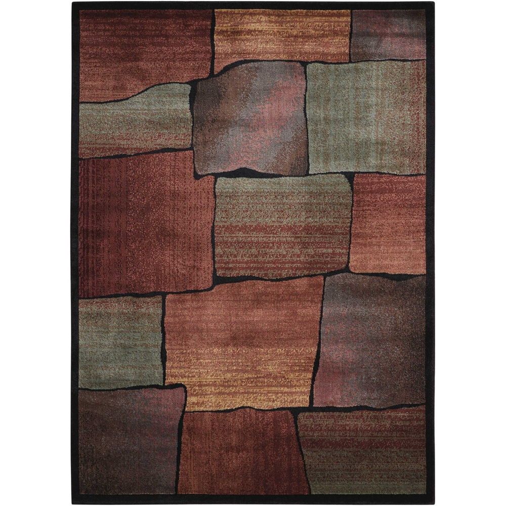 """Expressions Area Rug, Multicolor, 5'3"""" x 7'5"""". Picture 1"""