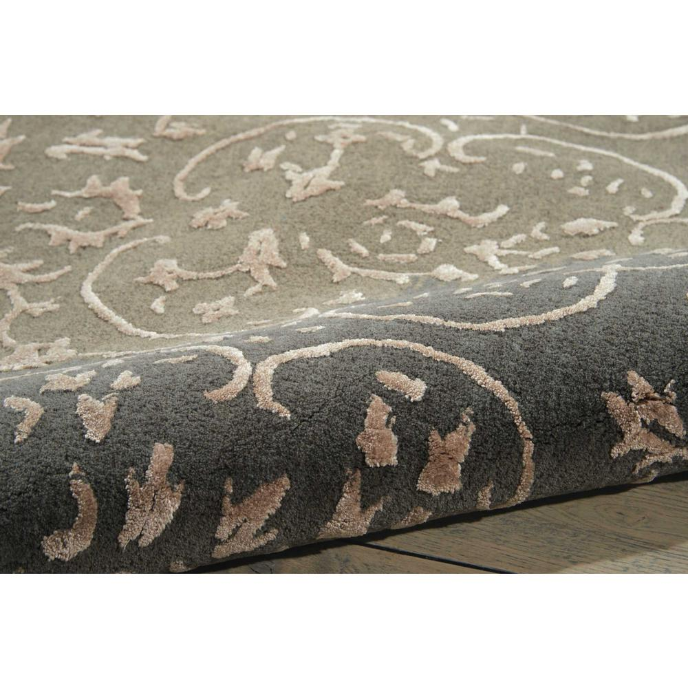 Nourison Opaline Charcoal Area Rug. Picture 3