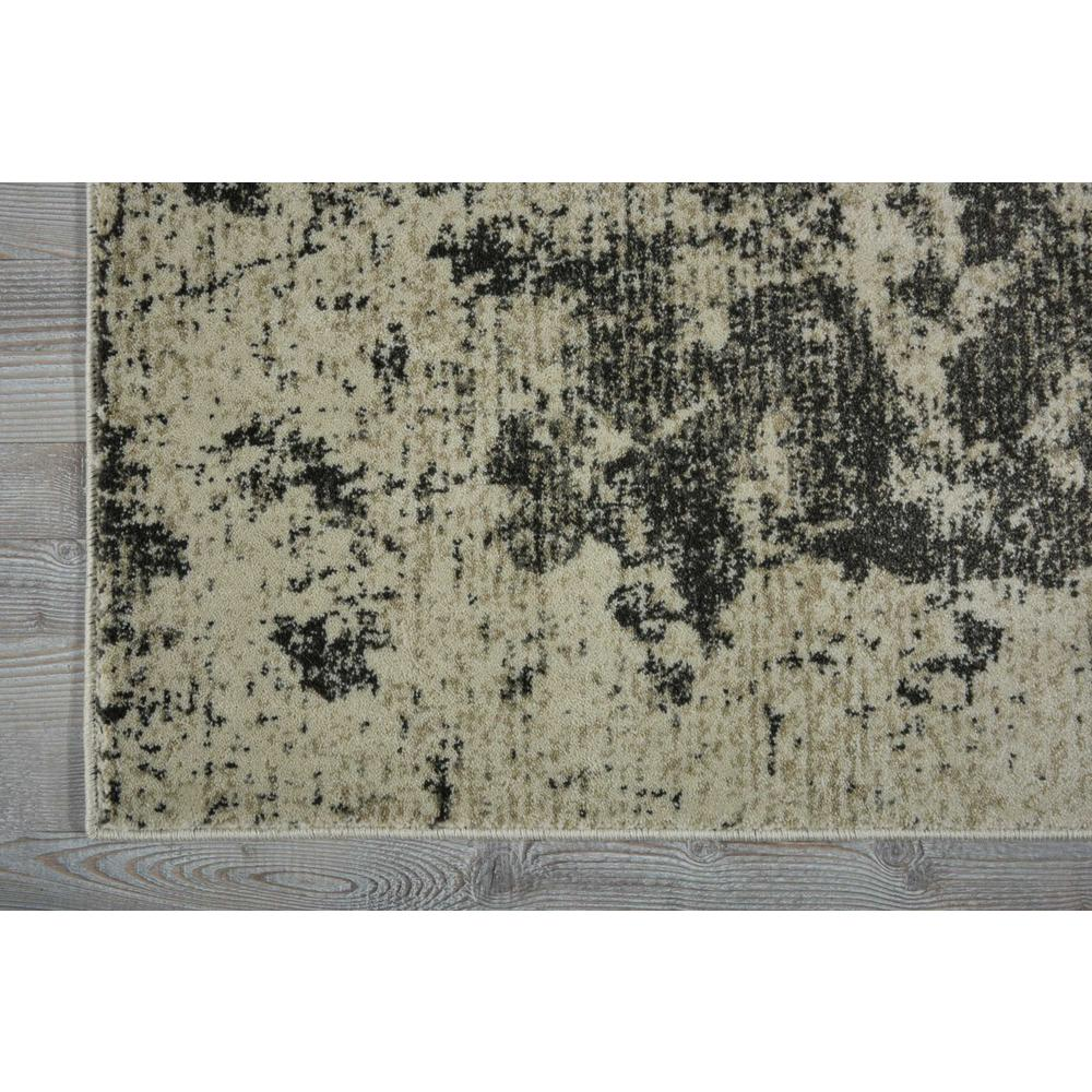 """Maxell Area Rug, Ivory/Grey, 2'2"""" x 7'6"""". Picture 2"""