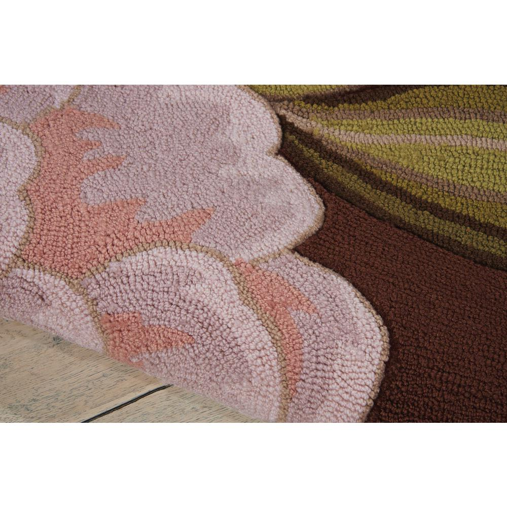 "Fantasy Area Rug, Chocolate, 2'6"" x 4'. Picture 3"