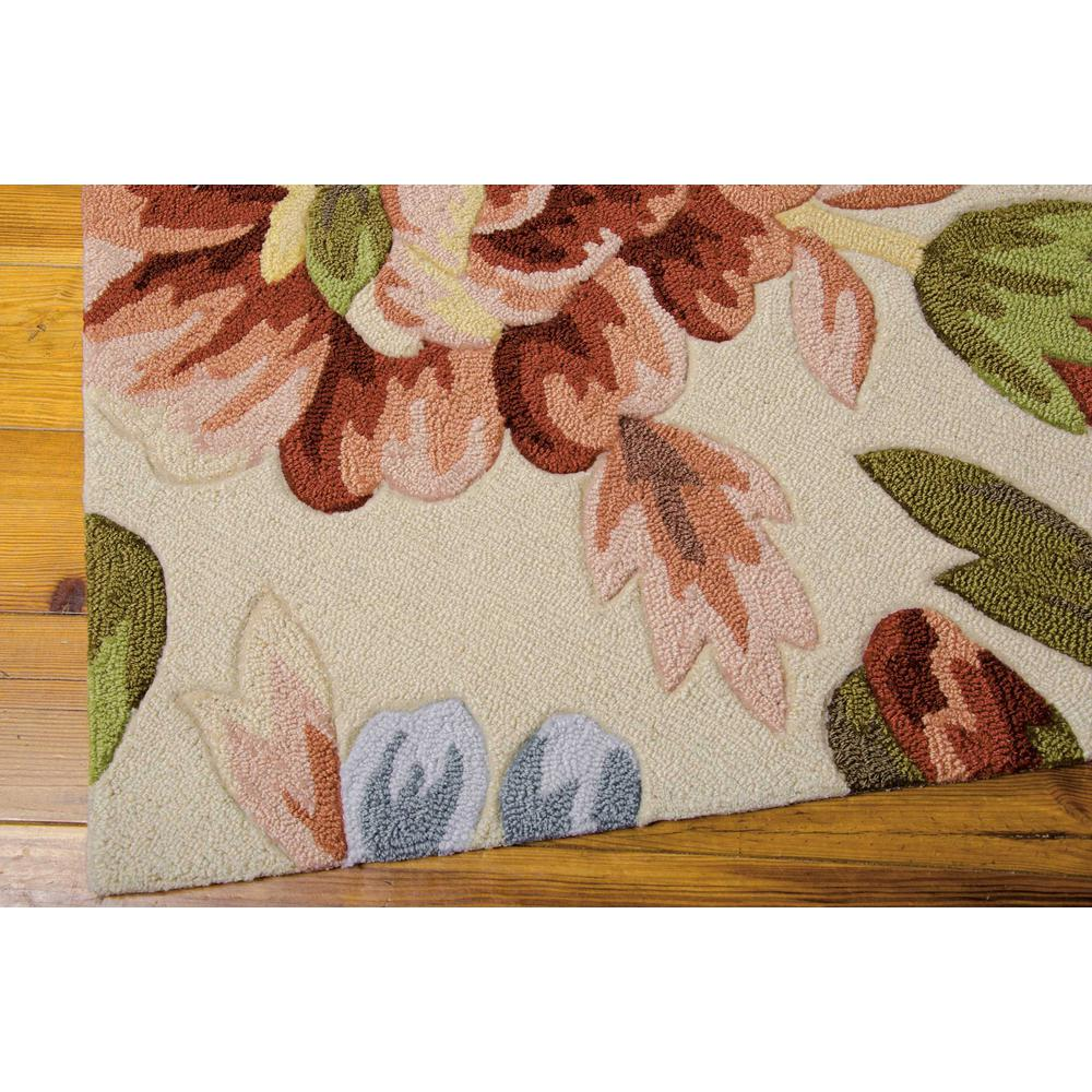 """Fantasy Area Rug, Ivory, 2'6"""" x 4'. Picture 5"""