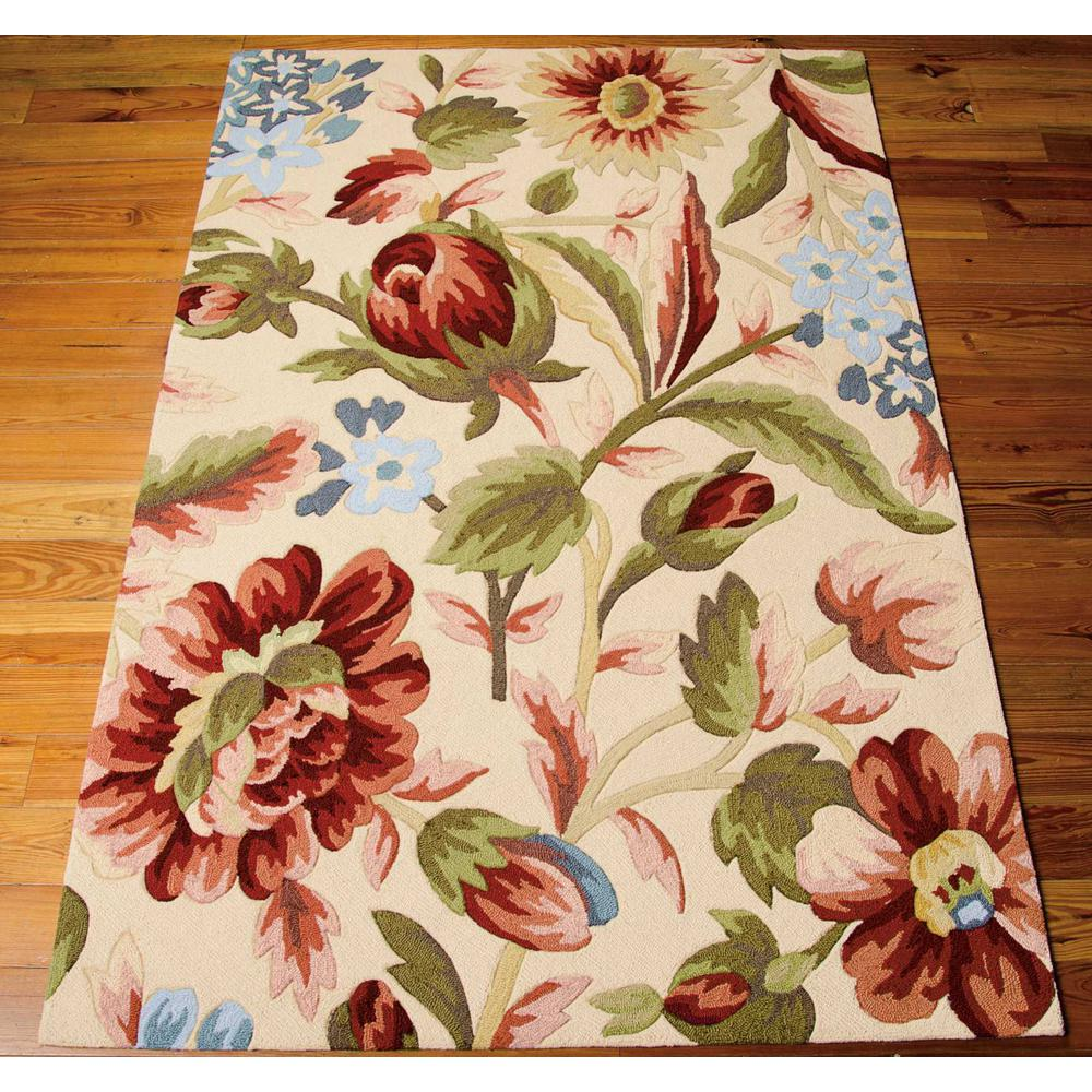 """Fantasy Area Rug, Ivory, 2'6"""" x 4'. Picture 3"""