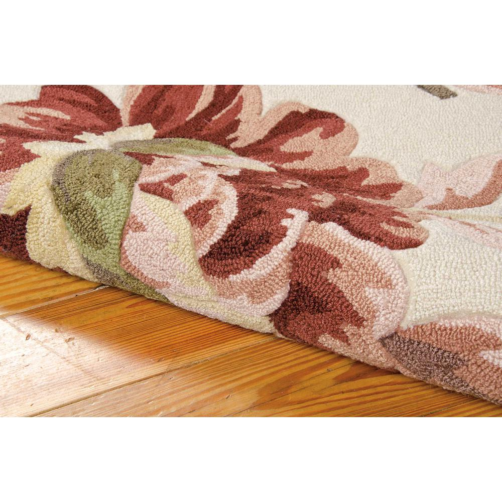 """Fantasy Area Rug, Ivory, 2'6"""" x 4'. Picture 6"""