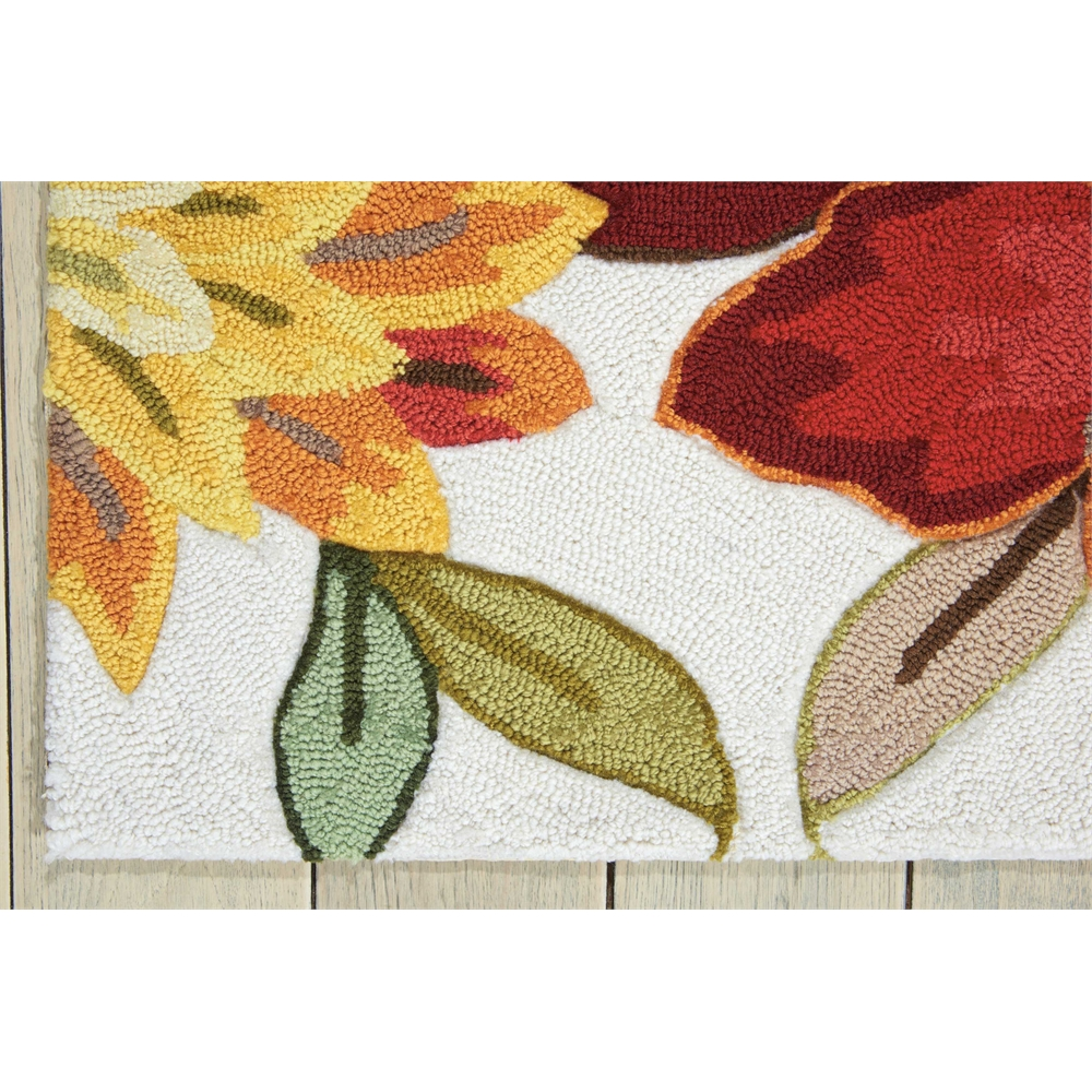 """Fantasy Area Rug, Ivory, 2'3"""" x 8'. Picture 2"""