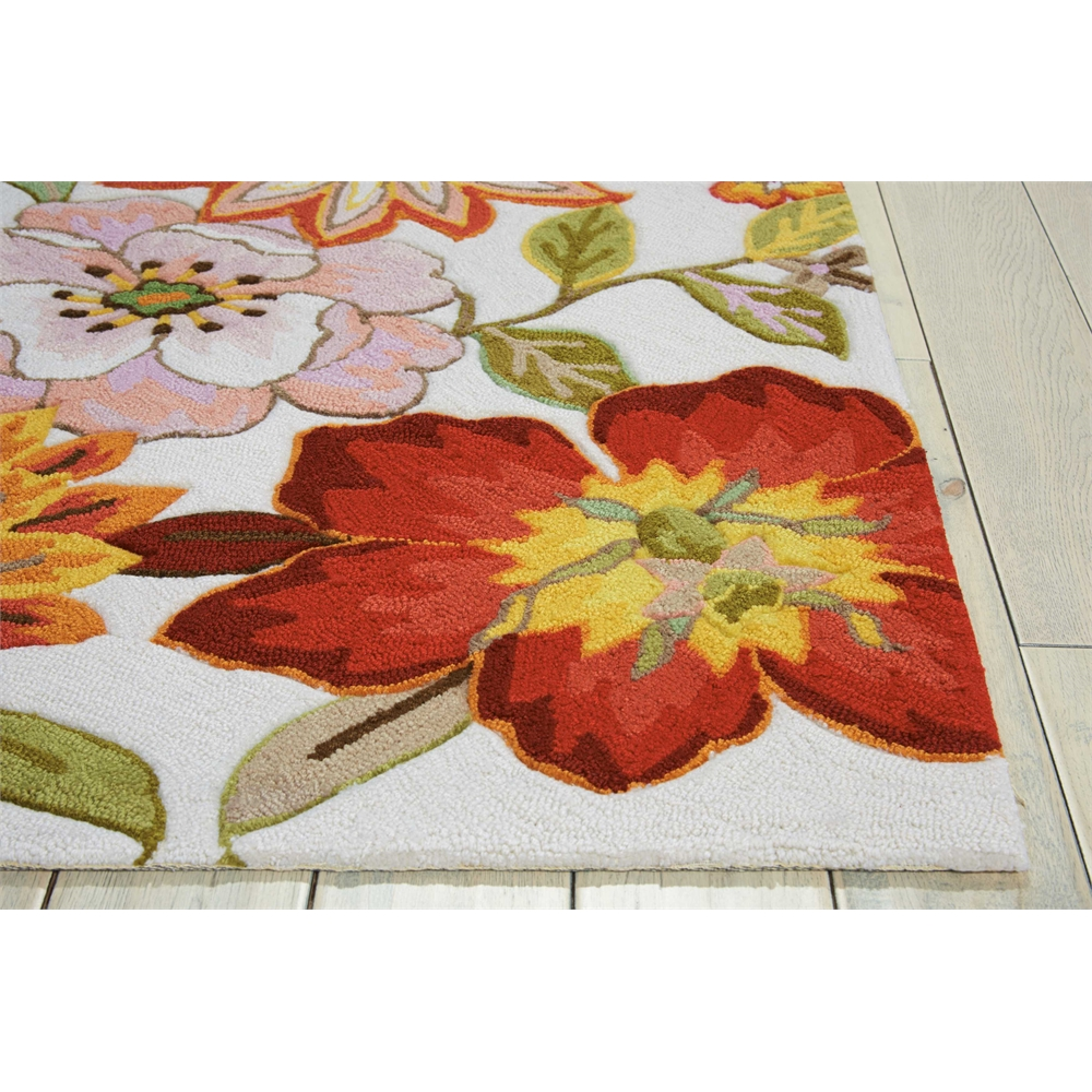 """Fantasy Area Rug, Ivory, 2'3"""" x 8'. Picture 3"""