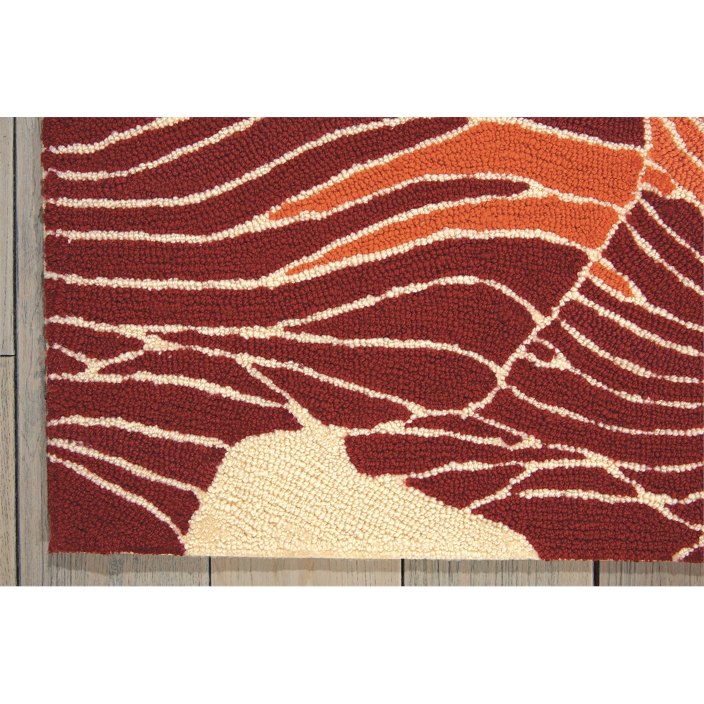 "Fantasy Area Rug, Sunset, 5' x 7'6"". Picture 2"