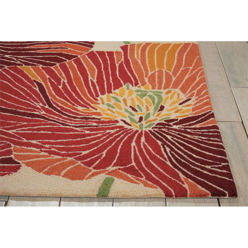 "Fantasy Area Rug, Sunset, 5' x 7'6"". Picture 3"
