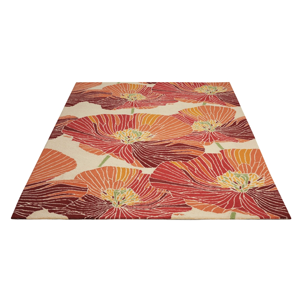 "Fantasy Area Rug, Sunset, 5' x 7'6"". Picture 5"