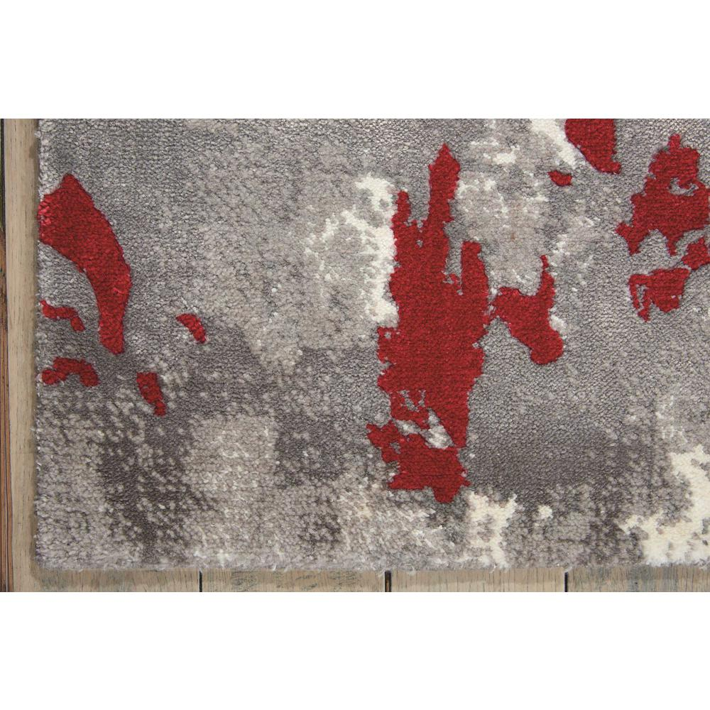 Twilight Area Rug, Grey/Red, 12' x 15'. Picture 2