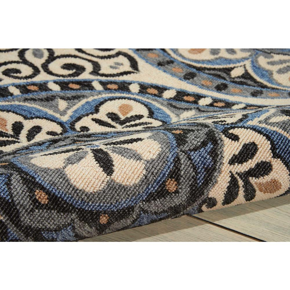 """Caribbean Area Rug, Ivory/Charcoal, 2'6"""" x 4'. Picture 3"""