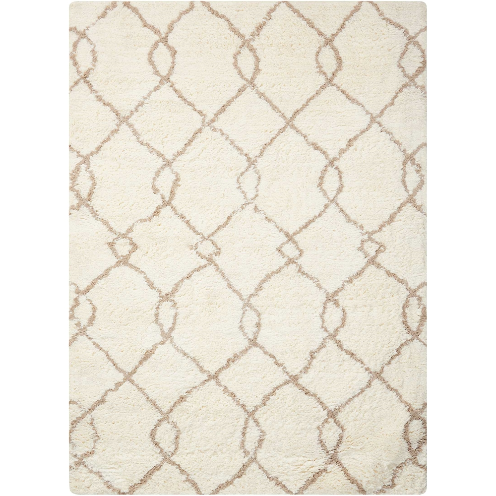 Galway Area Rug, Ivory/Tan, 5' x 7'. Picture 1