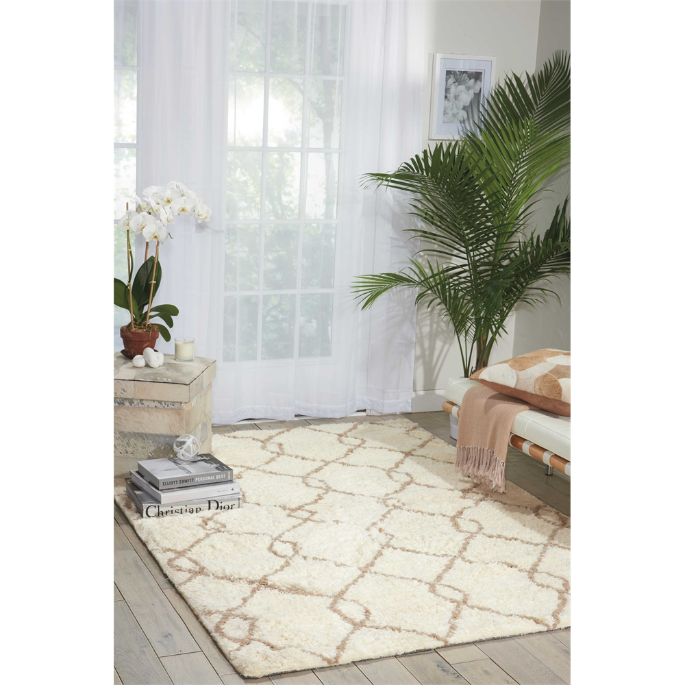 Galway Area Rug, Ivory/Tan, 5' x 7'. Picture 6