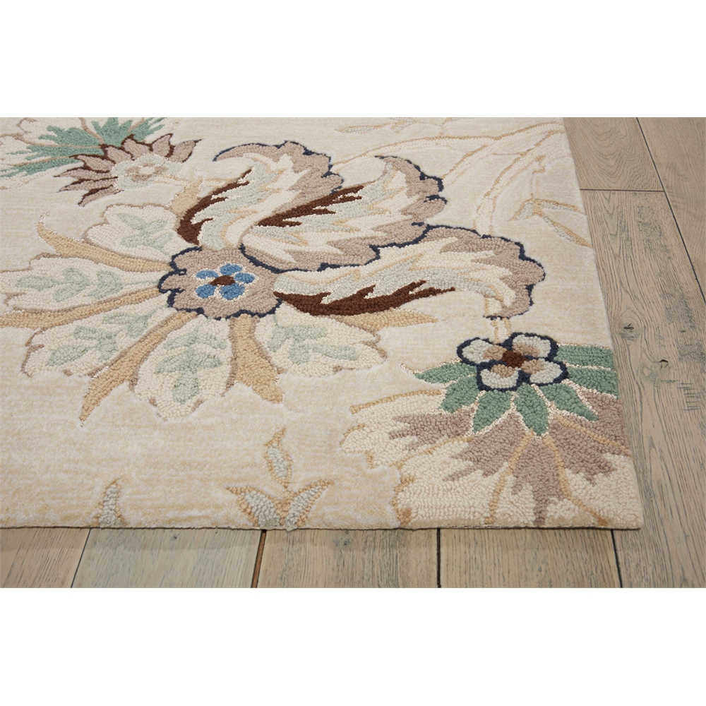 """Gatsby Area Rug, Ivory, 8' x 10'6"""". Picture 3"""