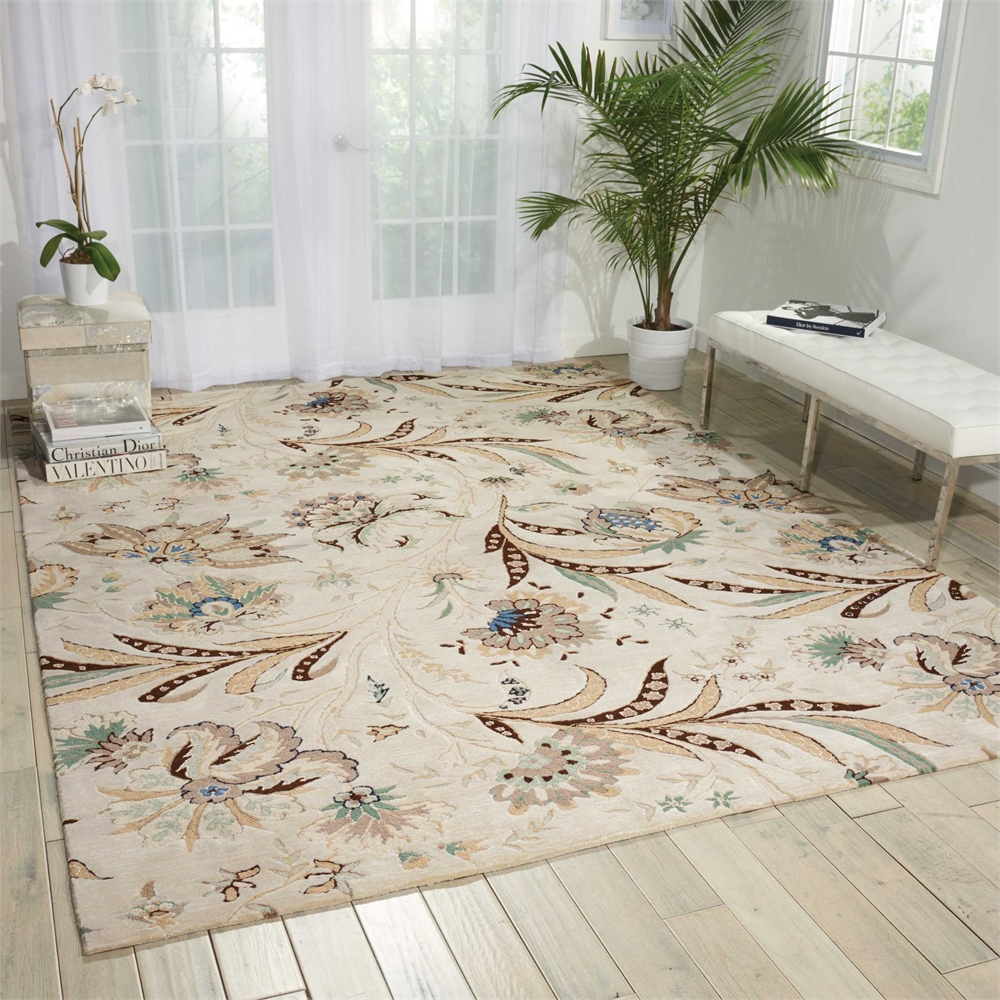 """Gatsby Area Rug, Ivory, 8' x 10'6"""". Picture 4"""