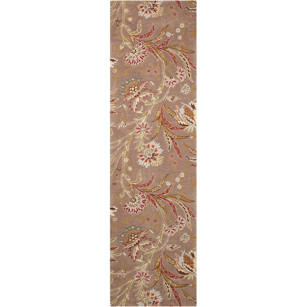 """Gatsby Area Rug, Mocha, 2'3"""" x  8'. Picture 1"""