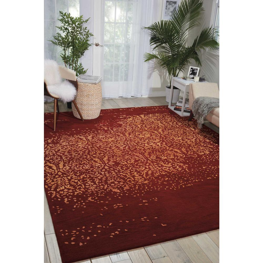 """Opaline Area Rug, Fire, 5'6"""" x 7'5"""". Picture 4"""