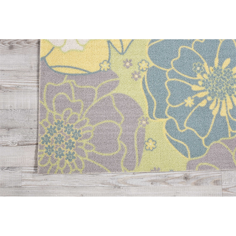 """Home & Garden Area Rug, Green, 7'9"""" x SQUARE. Picture 1"""