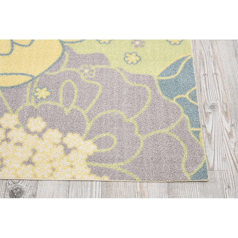 """Home & Garden Area Rug, Green, 7'9"""" x SQUARE. Picture 2"""