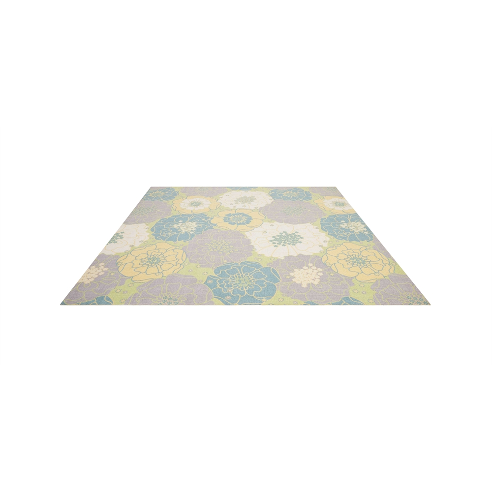 """Home & Garden Area Rug, Green, 7'9"""" x SQUARE. Picture 4"""