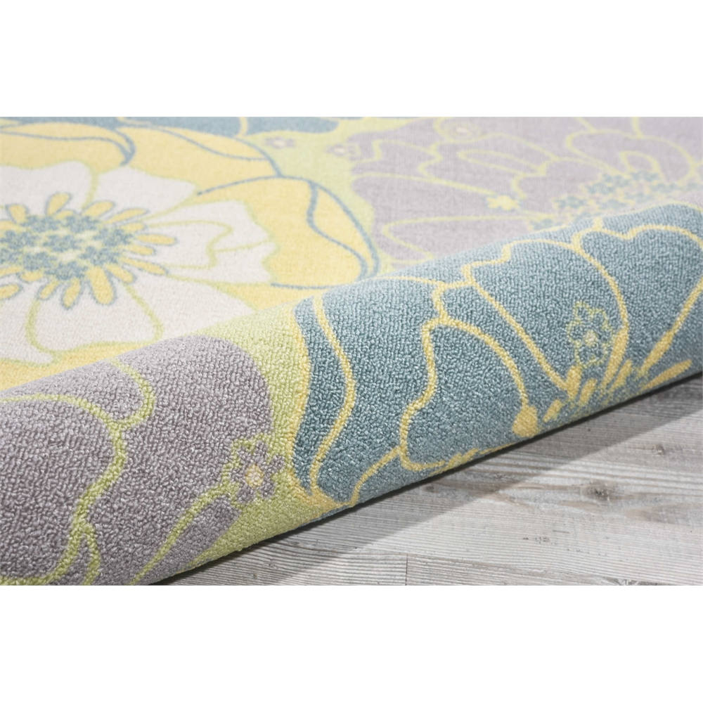 """Home & Garden Area Rug, Green, 7'9"""" x SQUARE. Picture 6"""