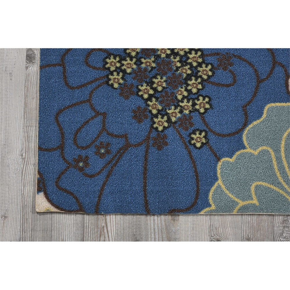 "Home & Garden Area Rug, Light Blue, 2'3"" x 3'9"". Picture 2"