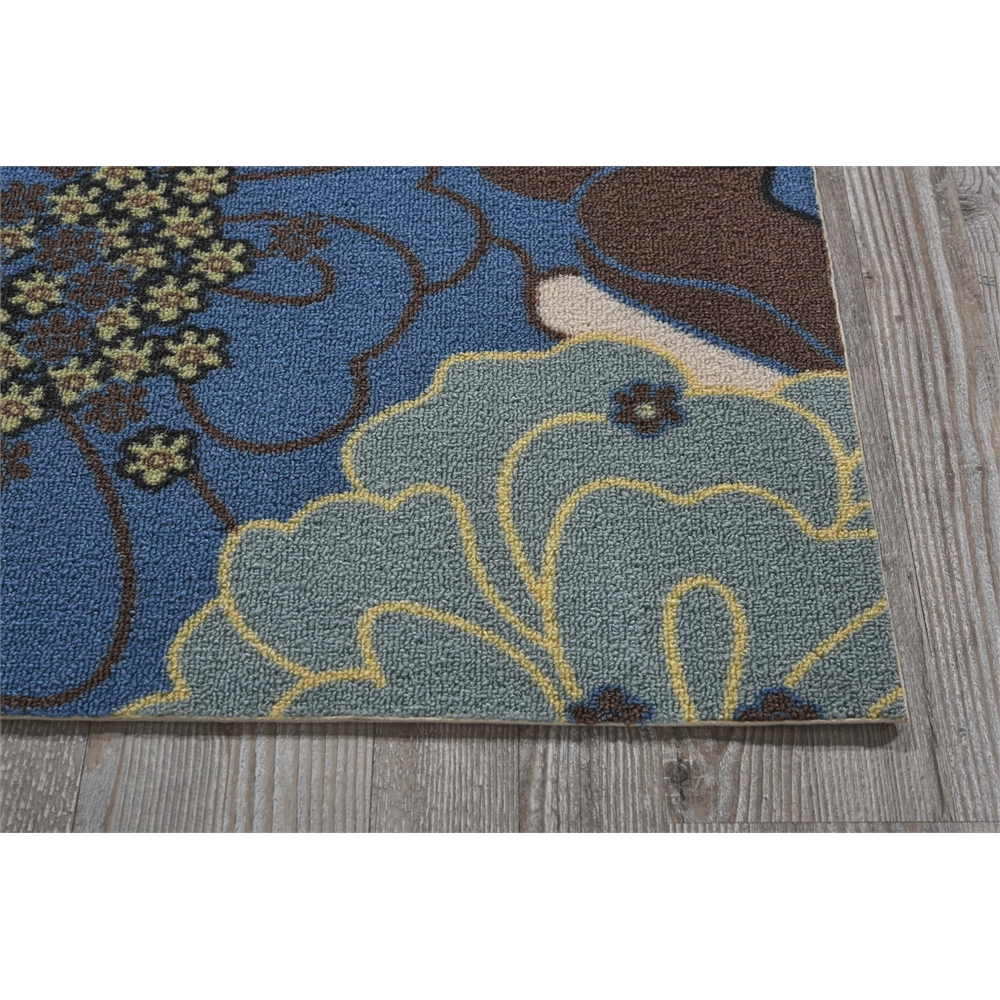 "Home & Garden Area Rug, Light Blue, 2'3"" x 3'9"". Picture 3"