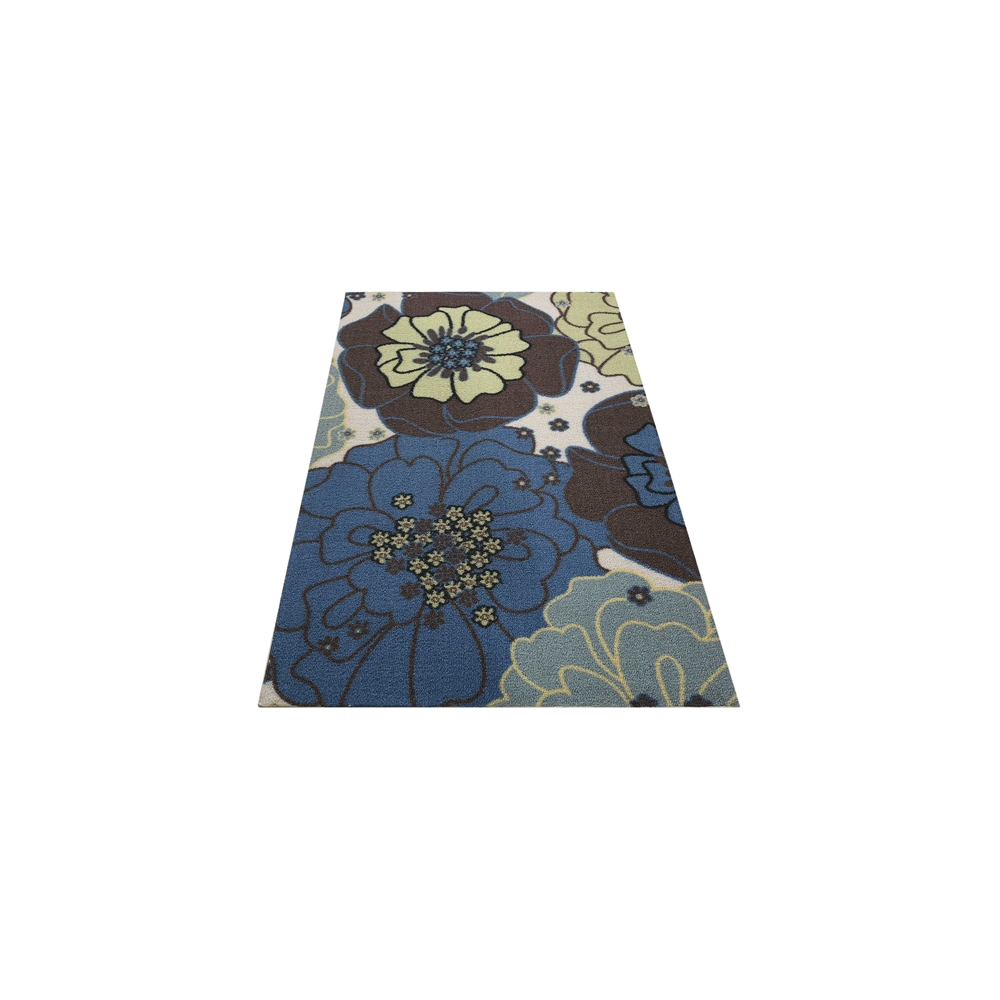 "Home & Garden Area Rug, Light Blue, 2'3"" x 3'9"". Picture 5"