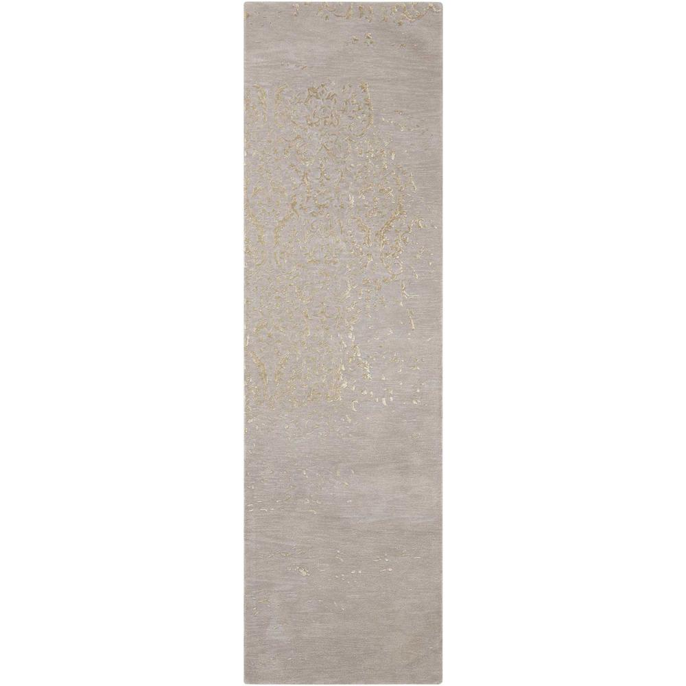 """Opaline Area Rug, Silver, 2'3"""" x 8'. Picture 1"""