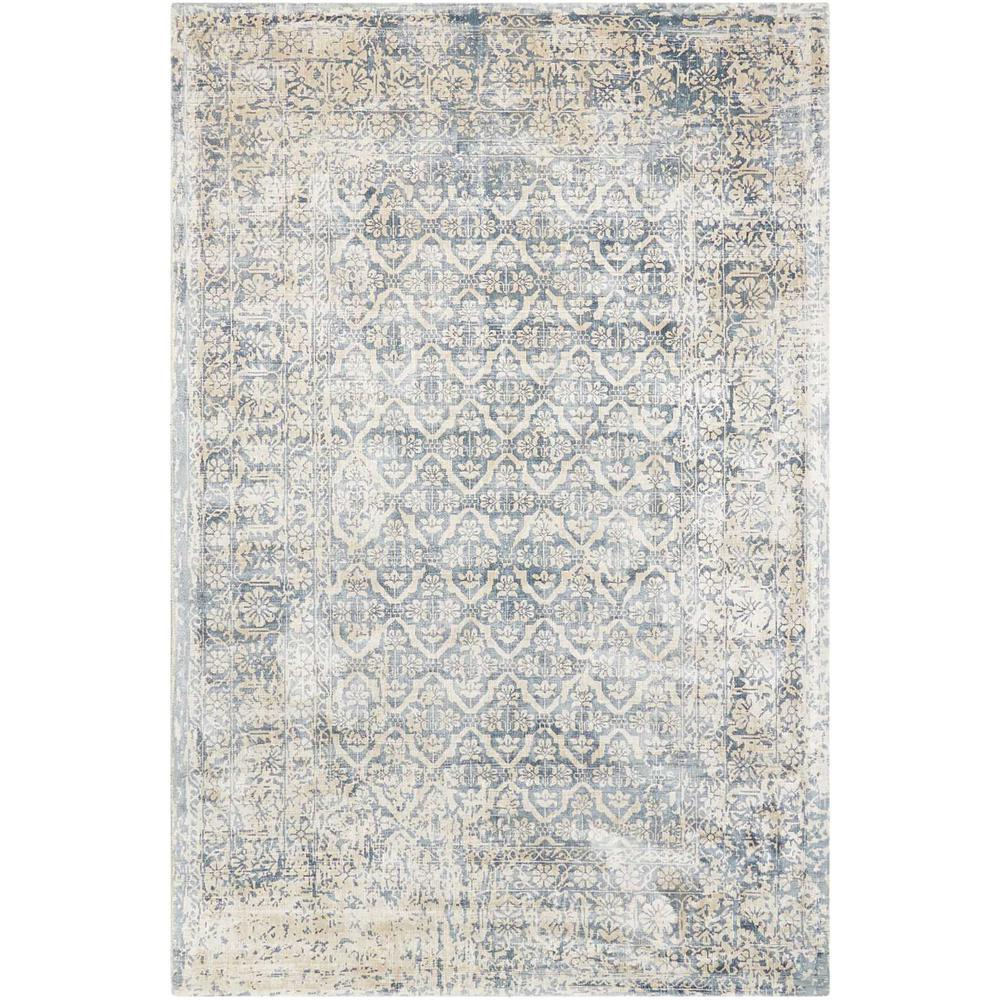 """Desert Skies Area Rug, Blue, 3'9"""" x 5'9"""". Picture 1"""