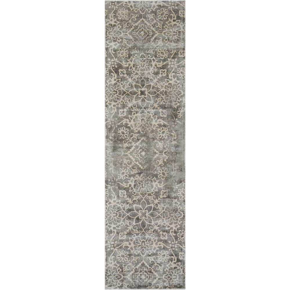 "Desert Skies Area Rug, Grey, 2'3"" x 8'. Picture 1"