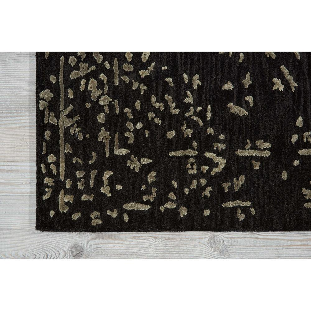 """Opaline Area Rug, Mmidnight/Silver, 2'3"""" x 8'. Picture 2"""
