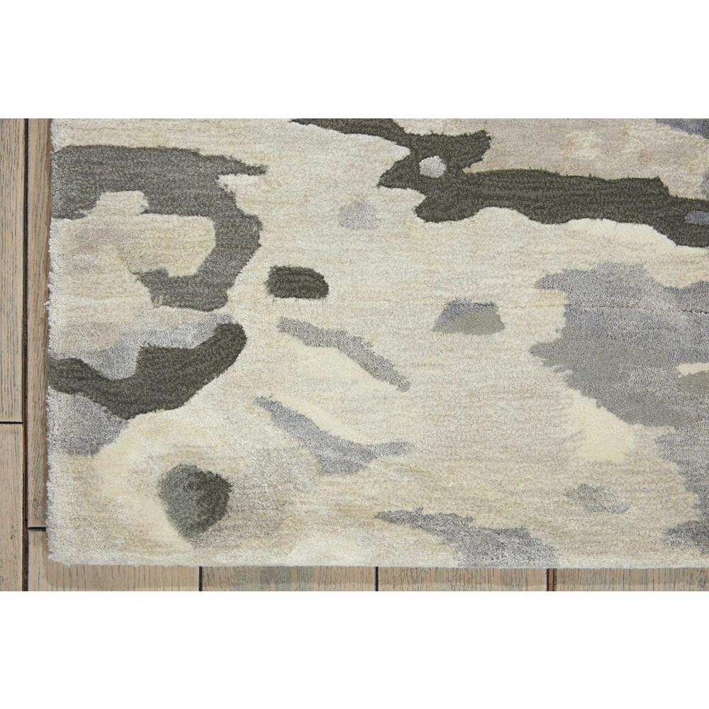 "Prismatic Area Rug, Silver Cloud, 5'6"" x 7'5"". Picture 2"