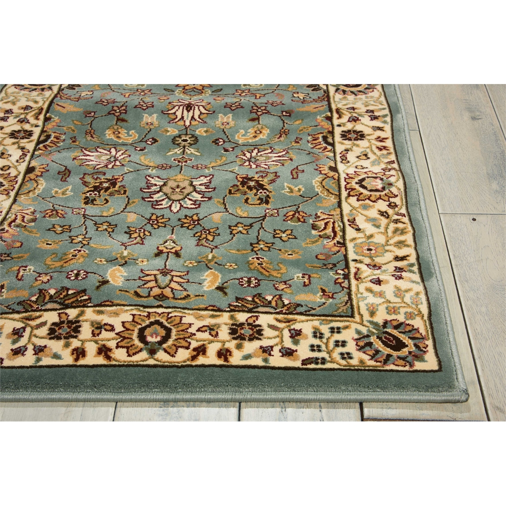 """Antiquities Area Rug, Slate Blue, 2'2"""" x 7'6"""". Picture 3"""