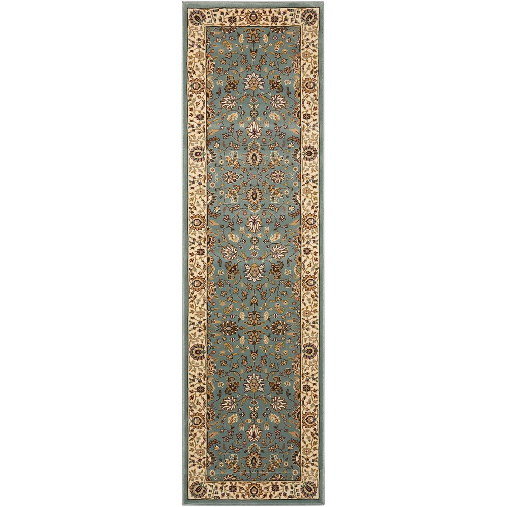 """Antiquities Area Rug, Slate Blue, 2'2"""" x 7'6"""". Picture 1"""
