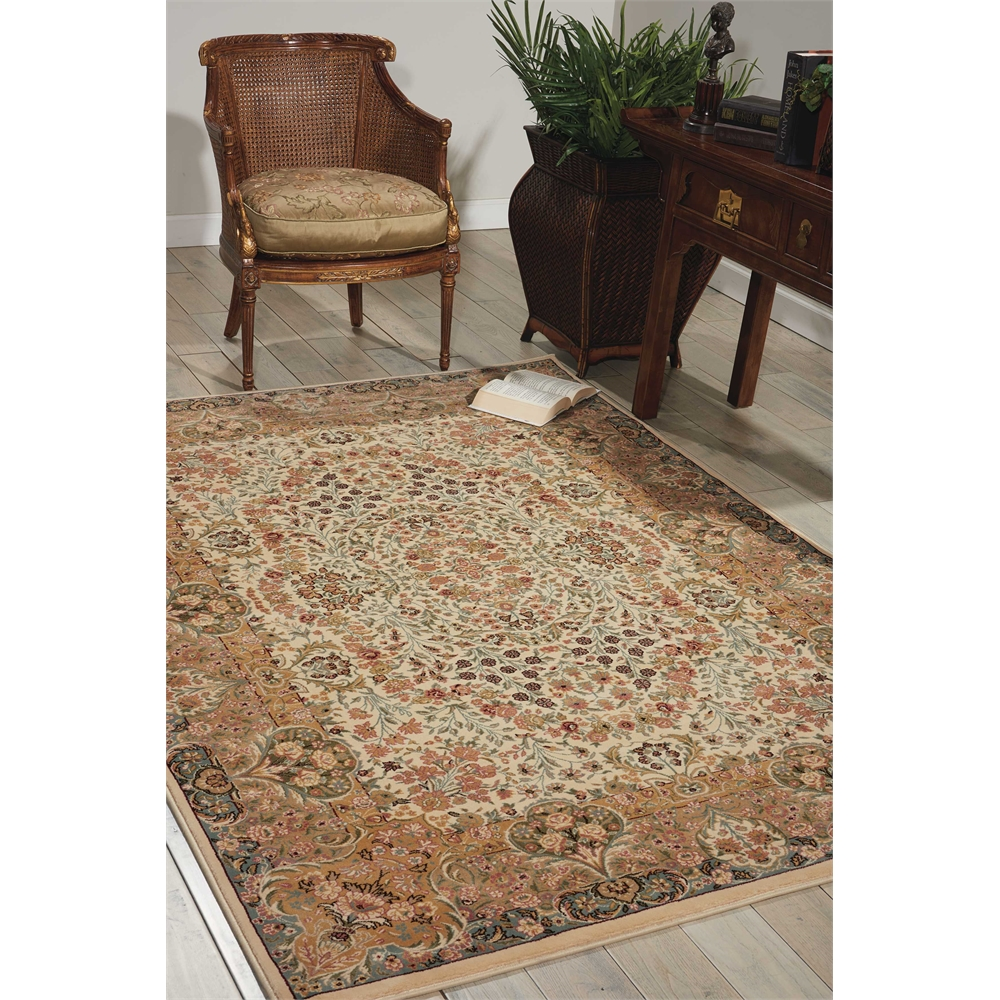 "Antiquities Area Rug, Ivory, 5'3"" x 7'4"". Picture 3"