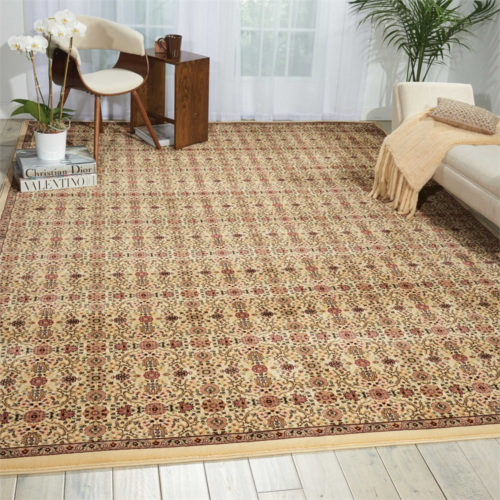 "Antiquities Area Rug, Ivory, 7'10"" x 10'10"". Picture 4"